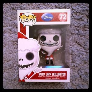 Nightmare before Christmas Santa Jack funko